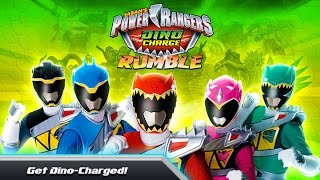 POWER RANGERS DINO CHARGE RUMBLE Gameplay IOS / Android