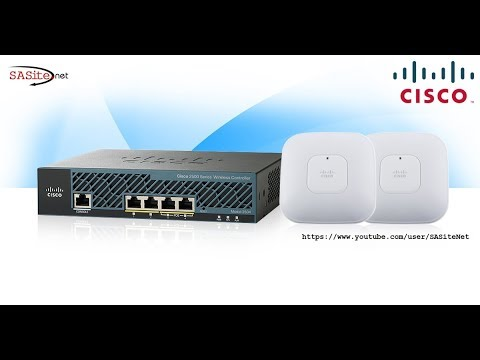 WiFi-Net#01: Setup Cisco Wireless Controller (WLC)