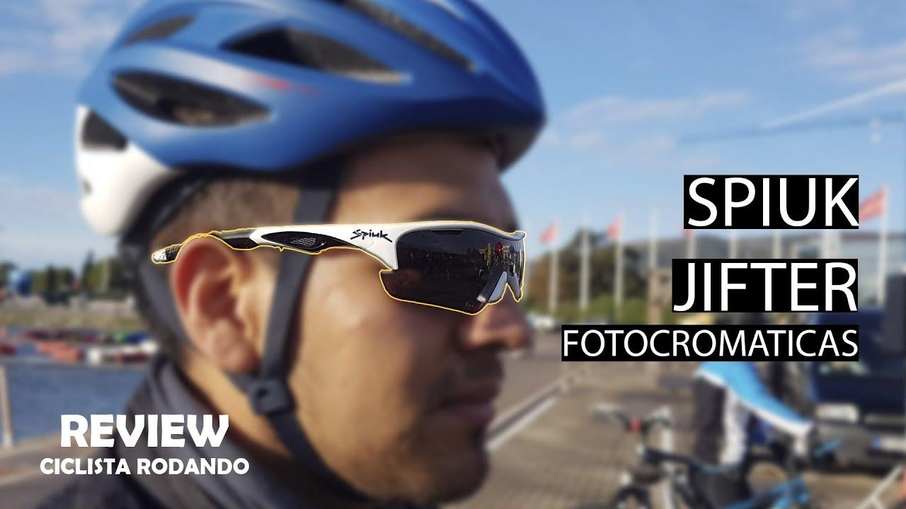 b31c830db5 Spiuk Jifter - Gafas fotocromaticas Review. Ciclista Rodando