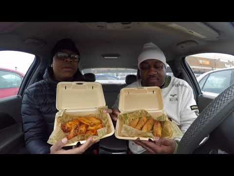 Wing Stop Food Review!!
