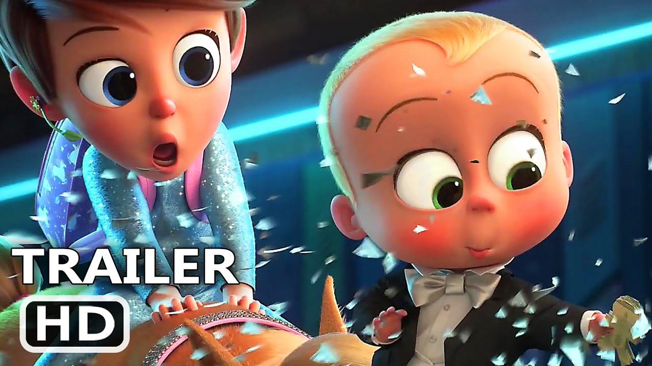 THE BOSS BABY 2 Official Trailer (2021)
