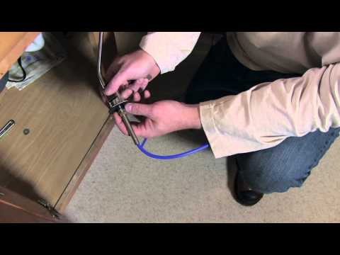 installing-a-faucet-and-water-filter