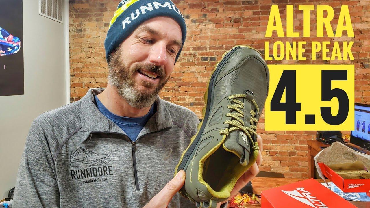 Altra Lone Peak 4 5 Review 2019 Youtube