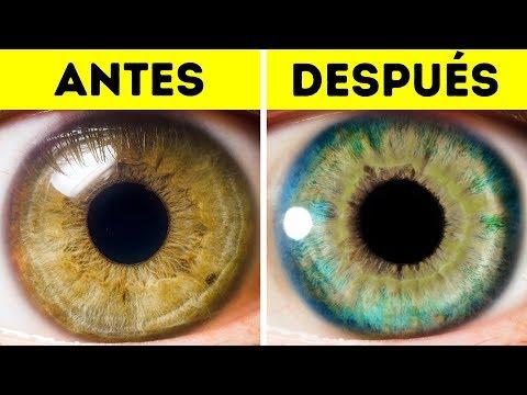 7 Cosas que pueden cambiar el color de tus ojos