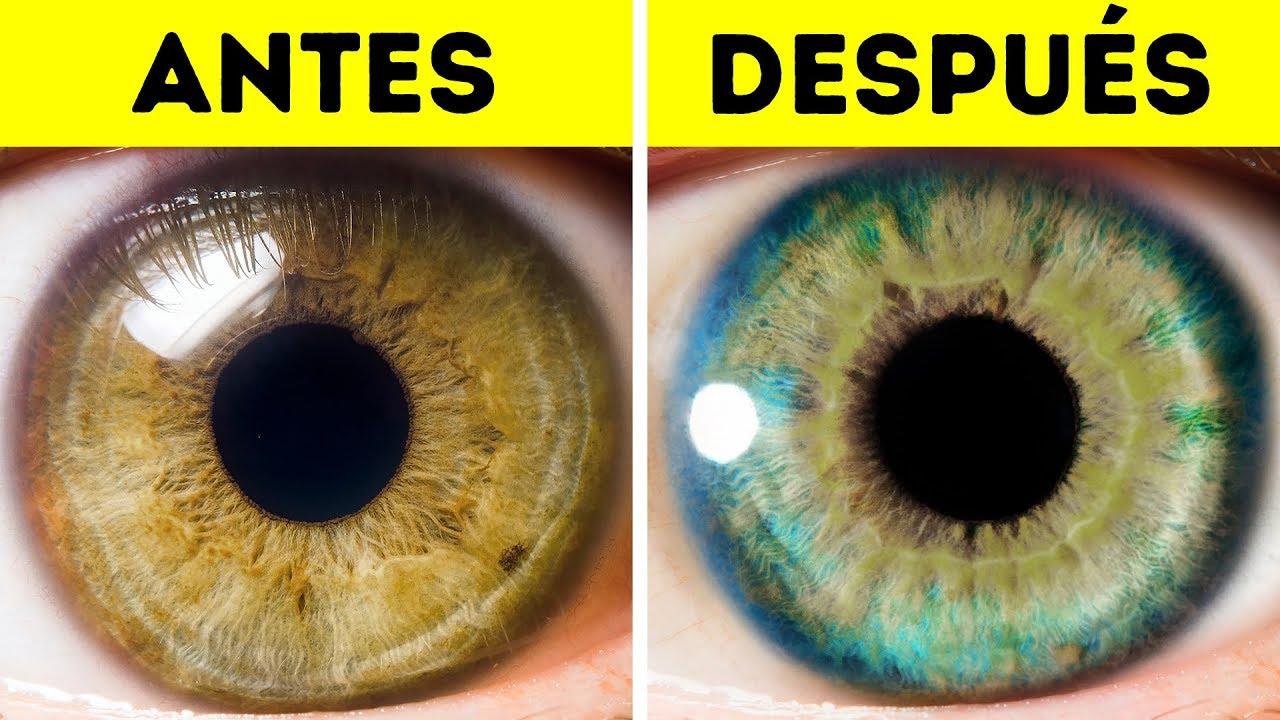 7 Cosas Que Pueden Cambiar El Color De Tus Ojos Youtube