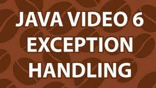 Java Video Tutorial 6