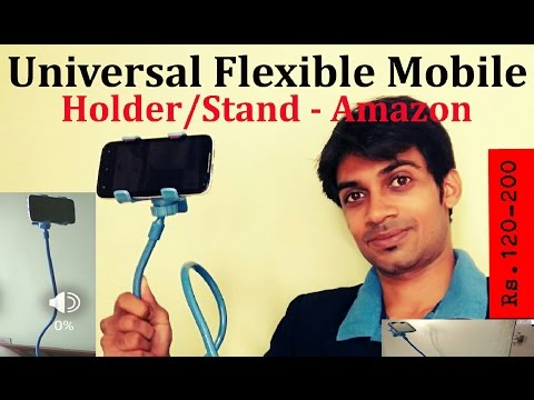 Universal Flexible Mobile Phone Holder/Stand-ApeCases: Unboxing: Hands On: Review: Amazon