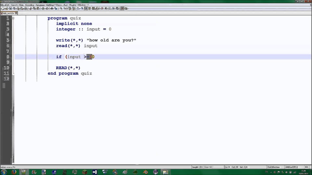 How To Write Ln In Fortran 77 Diamond Standing advantages