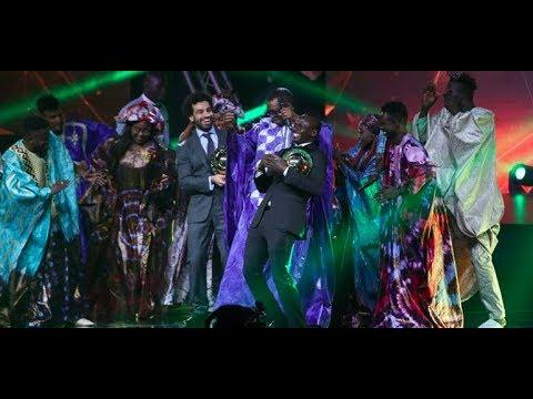 ballon d'or caf Youssou ndour fait danser Salah et sadio mane
