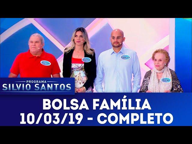 Bolsa Família - Completo | Programa Silvio Santos (10/03/19)