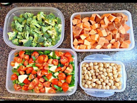 Vegan Food Prep-Staying Healthy During the Week!