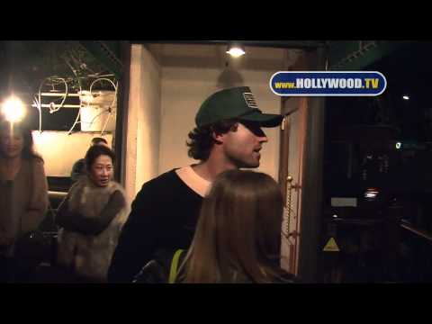 Avril Lavigne And Brody Jenner Dinner Date At Madeo