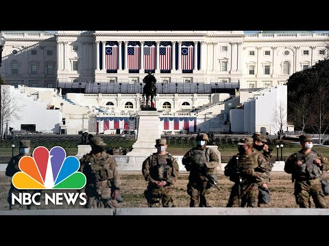 National Guard Deployed To State Capitols Ahead of Inauguration Day | NBC Nightly News