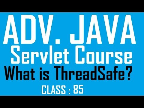 Java singlethreadmodel servlet