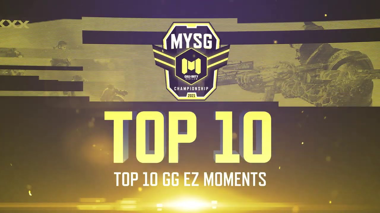 TOP 10 GG EZ Moments! - MYSG Championship 2021