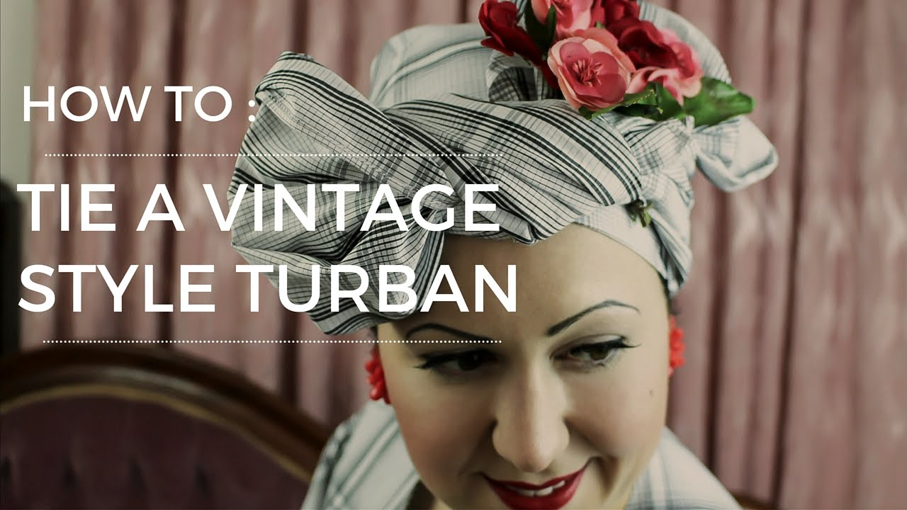 how to make a turban