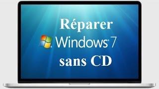 Comment réparer Windows 7 sans CD en quelques minutes
