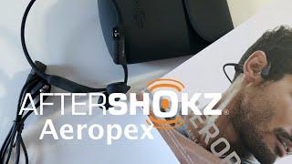 Auriculares de conducción ósea: AfterShokz Aeropex