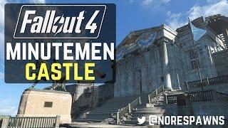Fallout 4 Mod Review - Minutemen Grand Castle Capital Mod