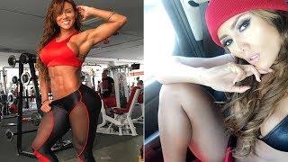 筋トレ女子 シックスパックが美しい!フィットネスモデルSonia Isazaのトレーニング(workout)風景#1