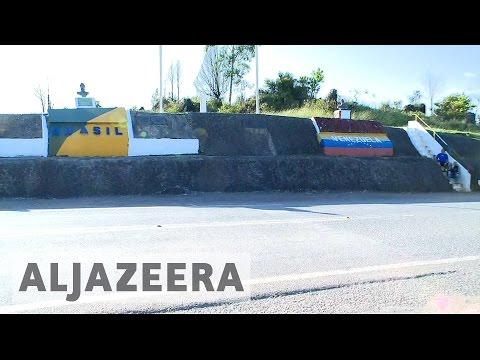 Brazil border town feels strain of Venezuela crisis