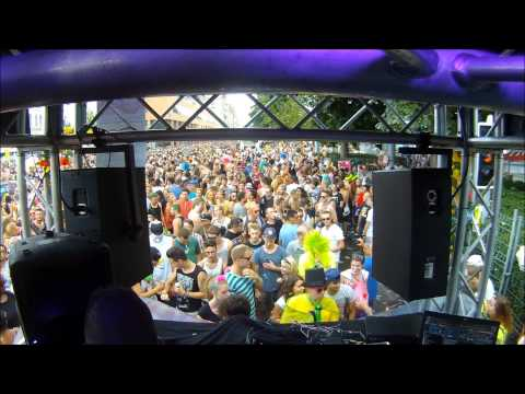 DJ Amato live - Street Parade 2014 (Zürich) Switzerland, Love Mobile #22