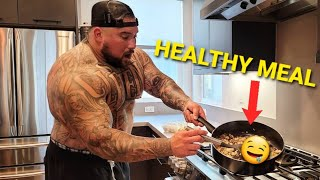 COOKING MY FAVORITE HEALTHY MEAL