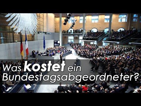Was kostet ein Bundestagsabgeordneter?