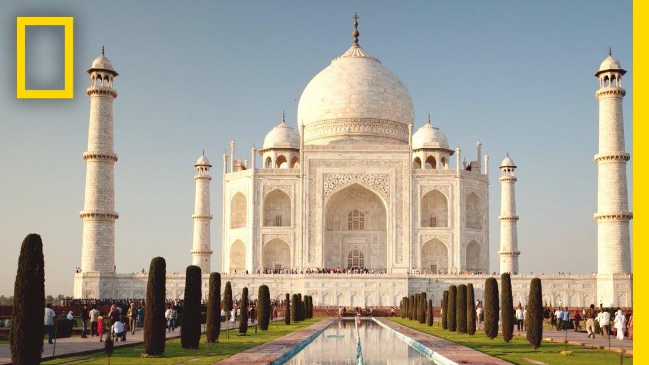 Taj Mahal Pictures Scenic Travel Photos