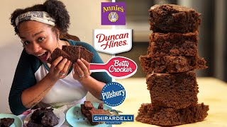 Pastry Chef Reviews Boxed Brownie Mix