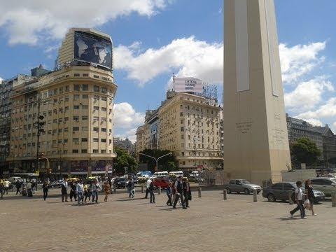 Buenos Aires Centro - Obelisco y Plaza de la Republica