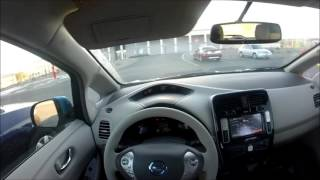 A Day In The Life Of An Electric Car (Nissan Leaf) (Range Test)