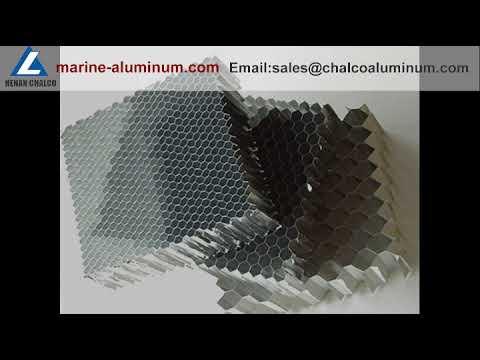 Marine grade aluminium honeycomb aluminum plate for ships