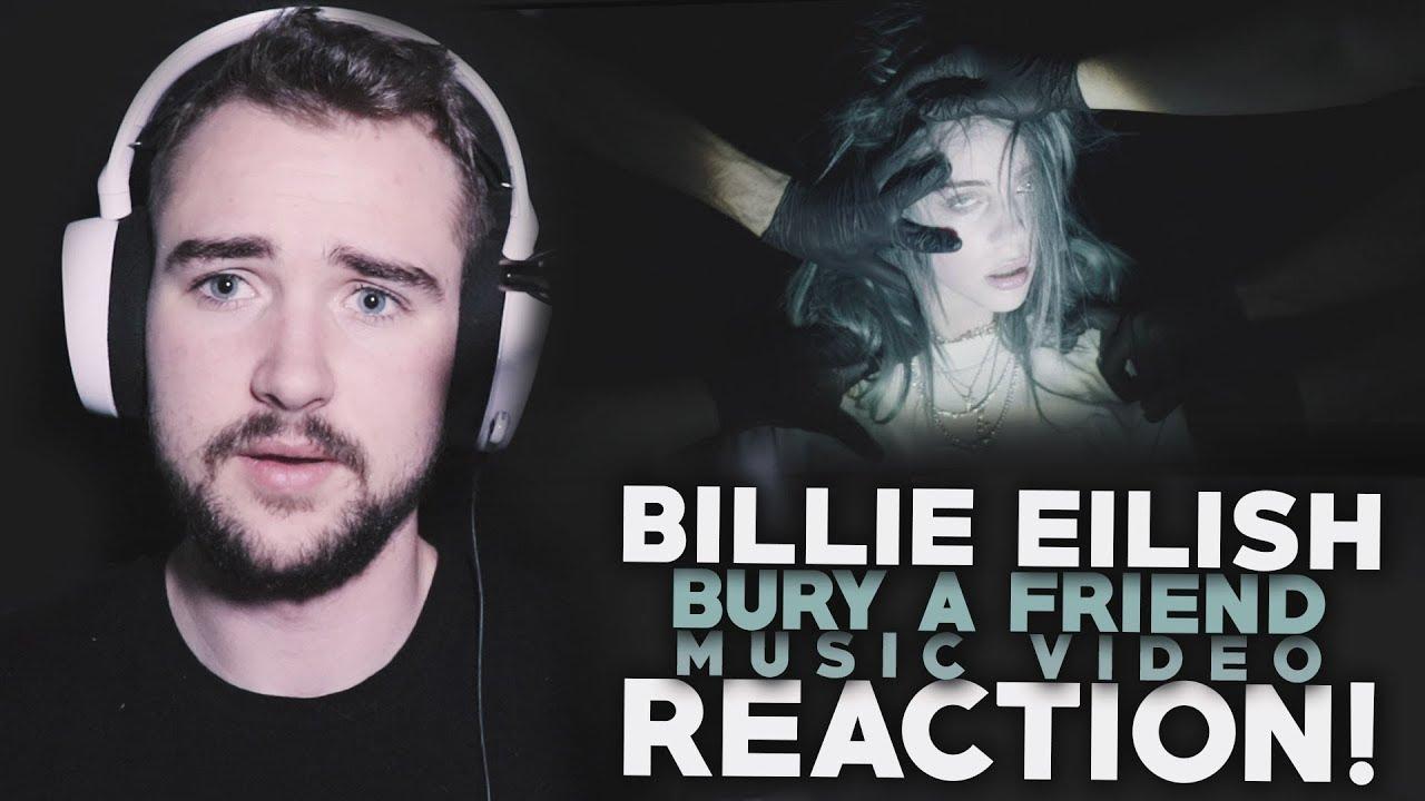BILLIE EILISH | Bury A Friend | Music Video | Reaction! image
