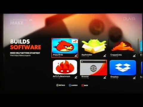 How to Root the Ouya and install Google Play Store & SuperSU - (Newest Chupacabra Update)