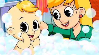 Hora de Baño, Johny Johny, Canciones infantiles - Canción del baño