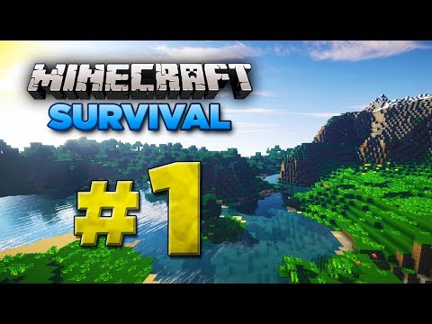 Minecraft Xbox: Survival Lets Play - Part 1 [XBOX ONE EDITION] 2017 Series - W/Commentary