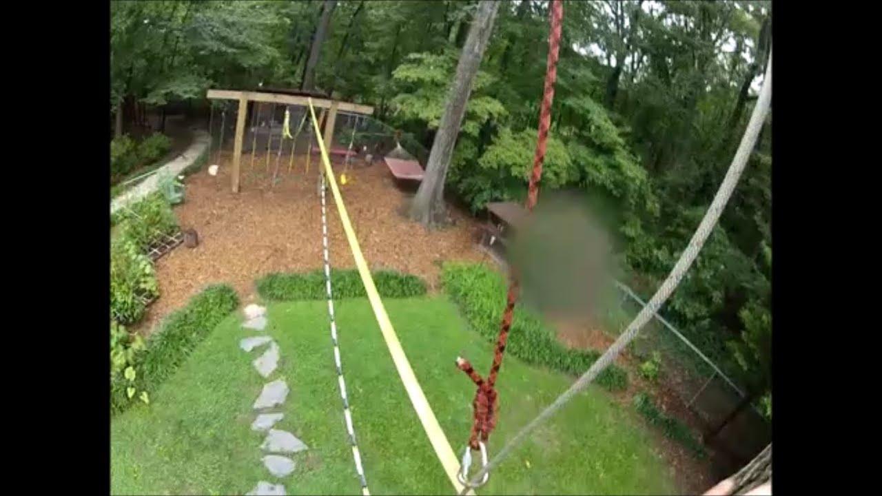Superieur Backyard Highline  Slacklining With Dan The Can Do Man   YouTube