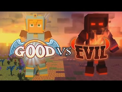 HOW TO MAKE A MINECRAFT VIDEO! (Good vs Evil)