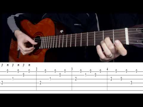 Malaguena (Beginners Guitar Lesson - Pt 1) by Gordon Leary