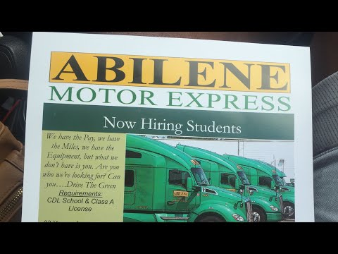 Abilene Motor Express 2year Review(PH And KDW Trucking Vlog)