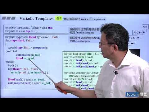 21 Variadic Templates 7  C++ Keywords - YouTube