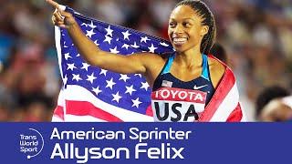 Allyson Felix on Trans World Sport
