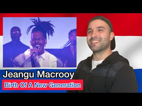 Reaction ??: Jeangu Macrooy - Birth Of A New Age (Eurovision 2021 The Netherlands) Live Perform