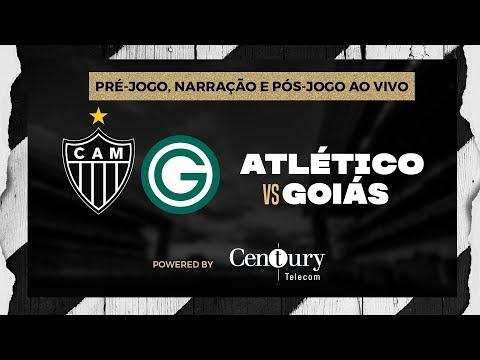 Atlético x Goiás: pré-jogo, narração e pós-jogo.