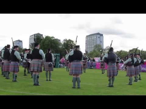 Midlothian Pipe Band @ The Worlds Final 2015
