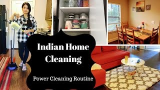 My Morning Speed Cleaning Routine ll Indian SAHM Cleaning Routine ll Reallife RealHome