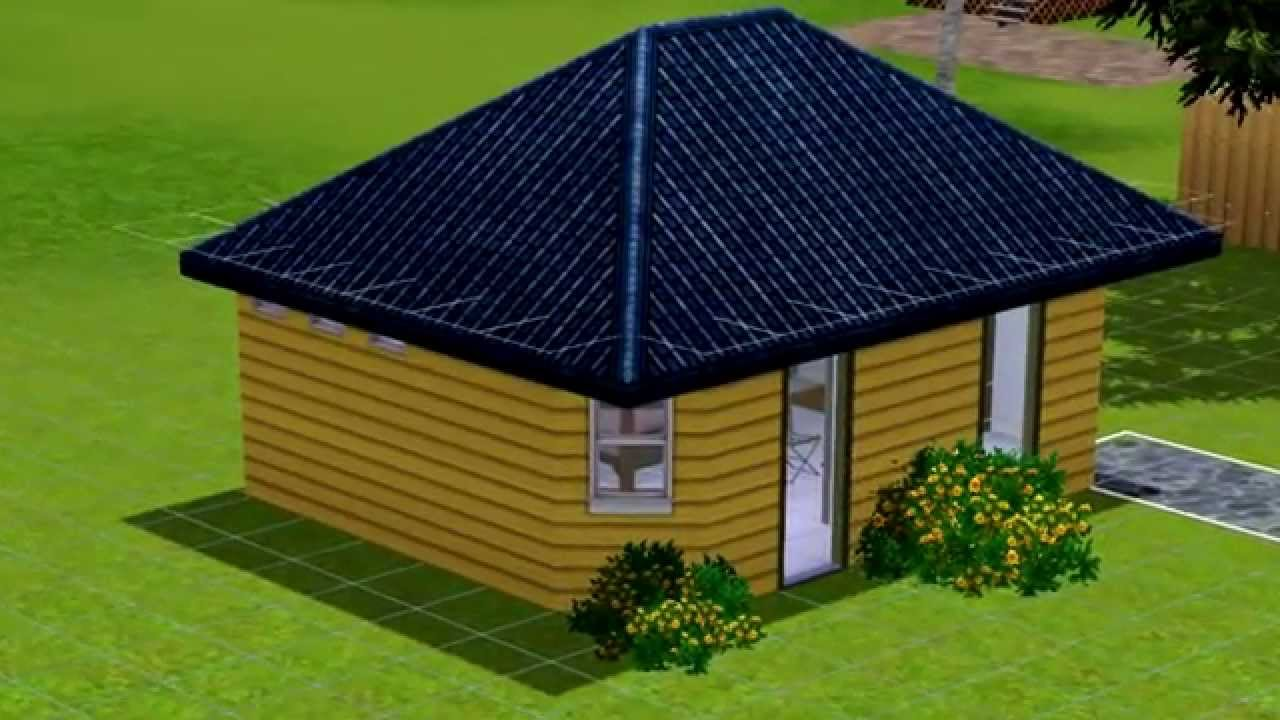 sims 3 haus bauen 3 low budget youtube. Black Bedroom Furniture Sets. Home Design Ideas
