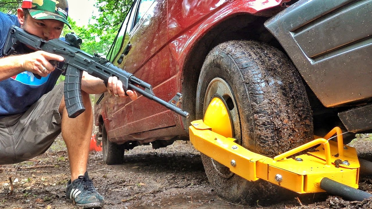 Can You Shoot off a Tire Boot WITHOUT Popping Your Tire???