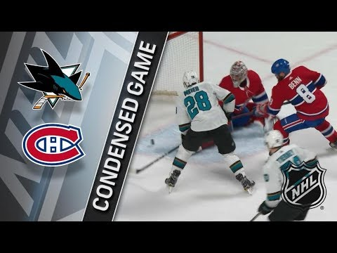 San Jose Sharks vs Montreal Canadiens – Jan. 02, 2018 | Game Highlights | NHL 2017/18. Обзор матча